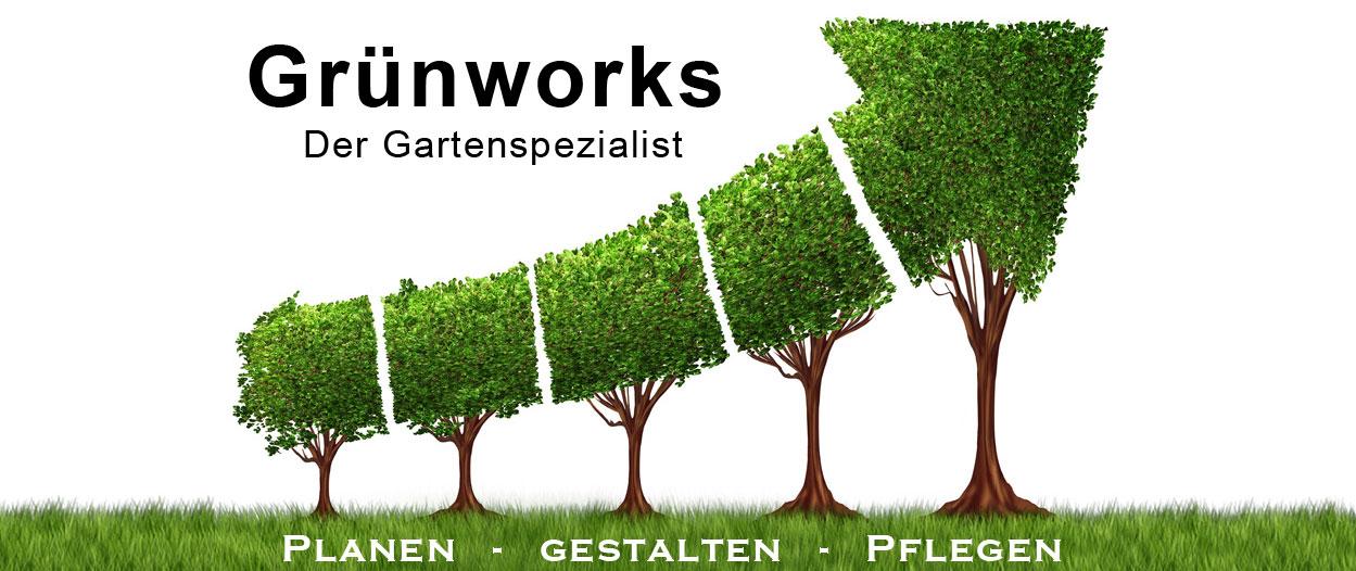Logo von Grünworks Gartenbau